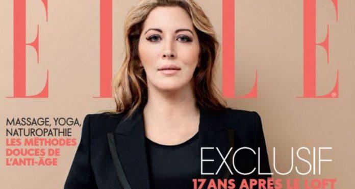 Loana métamorphosée en couverture de Elle (PHOTO)