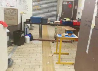 Tolbiac : une évacuation et des dégâts (Vidéo)