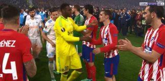 Atlético - OM : Une haie d'honneur et des larmes