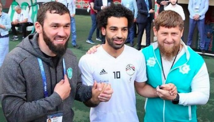 Salah, Kadyrov : la photo polémique