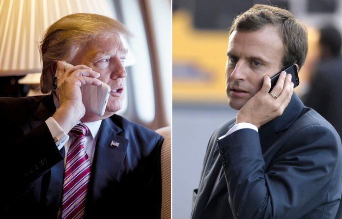 Taxes Américaines : Un appel tendu avec Trump, Macron