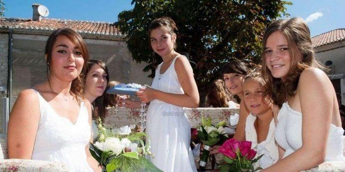 Fête de la rosière à Salency :