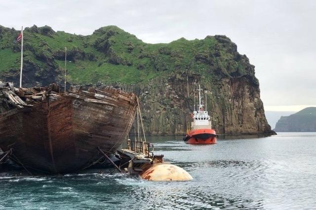 Un Navire regagne la Norvège 100 ans après