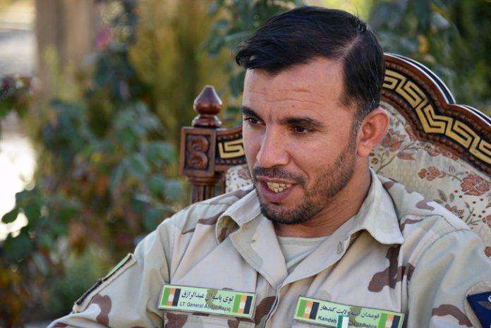 Fusillade avec le commandant de l'OTAN en Afghanistan