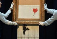 La destruction de l'œuvre de Banksy (Vidéo)