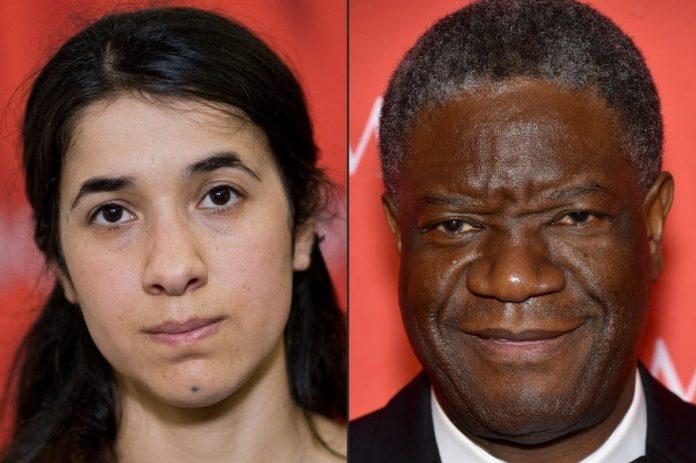 Le Prix Nobel de la paix 2018 à Denis Mukwege et Nadia Murad (Détail)