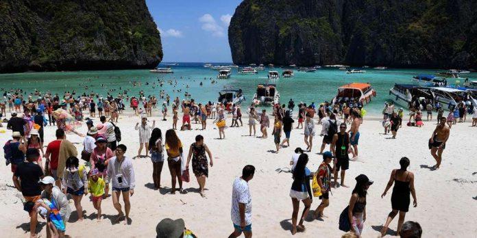 Thaïlande : la baie du film La plage va rester fermée