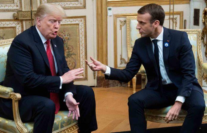 Donald Trump critique l'armée européenne de Macron
