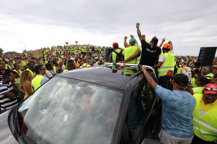 Gilets jaunes : Un blocage total de l'île de La Réunion