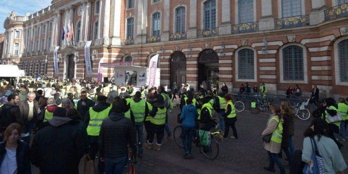 Les Journalistes portent plainte, Toulouse. Pris à partie par des Gilets Jaunes