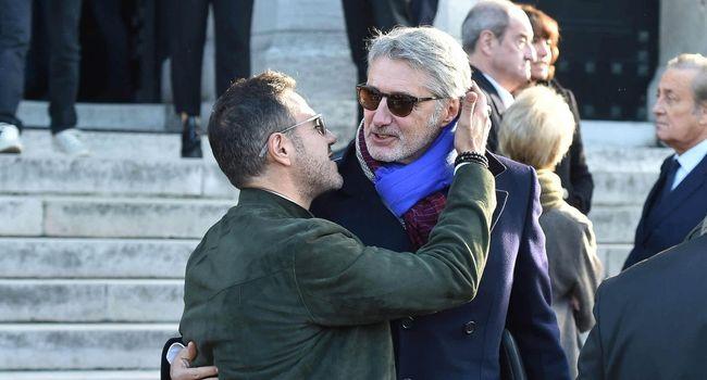 Obsèques Philippe Gildas: José Garcia s'est encore fait piéger (Détail)