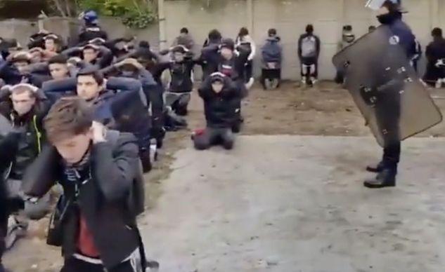 Arrestation de lycéens à Mantes-la-Jolie (Vidéo)