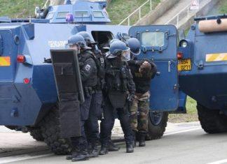 Blindés à Paris ce samedi pour assurer le maintien de l'ordre