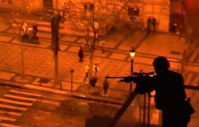 Des snipers pour gérer les 'gilets jaunes' (Vidéo)