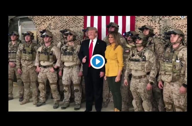 Donald Trump brise le secret-défense en Irak