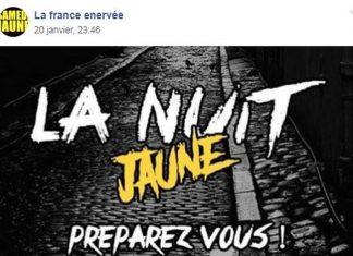 Eric Drouet menace d'une «nuit jaune» si Macron ne les reçoit pas (Détail)
