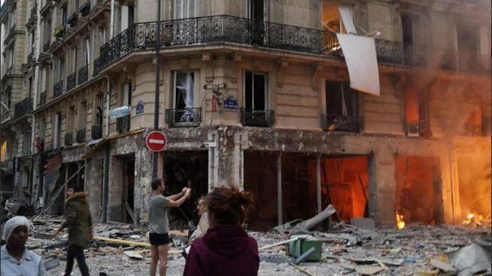 Explosion immeuble, rue Trévise à Paris : plusieurs blessés, certains graves