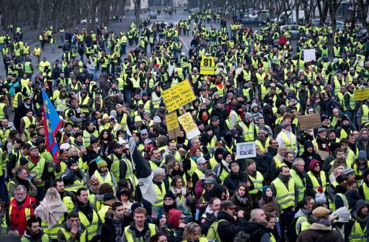Gilets jaunes acte 10 : Mobilisation aux quatre coins de France