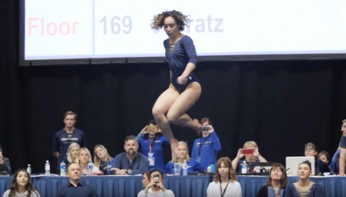 Katelyn Ohashi vidéo: La gymnaste défie la gravité et emballe les réseaux