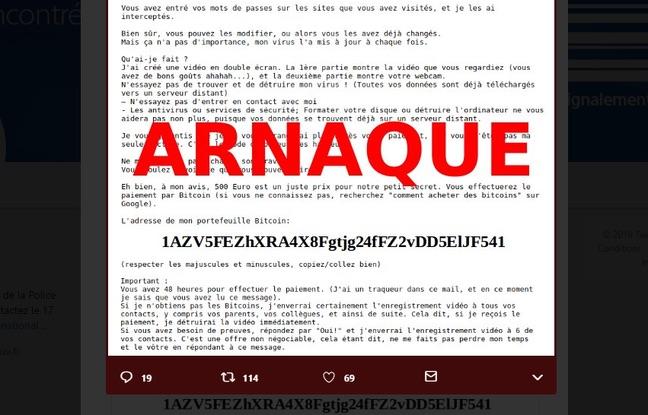 Arnaque massive par mail : Les autorités mettent en garde (Details)