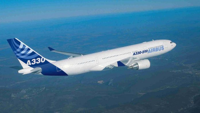 Atterrissage d'urgence d'un Airbus A330 à Taïwan (détail)