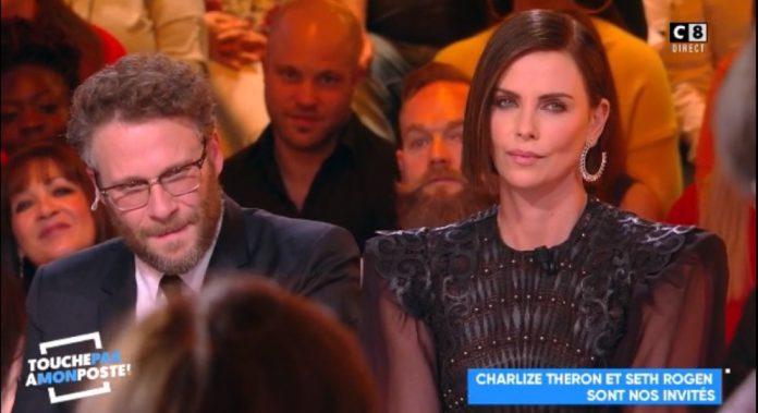 Charlize Theron recadre Hanouna sur le consentement (Vidéo)