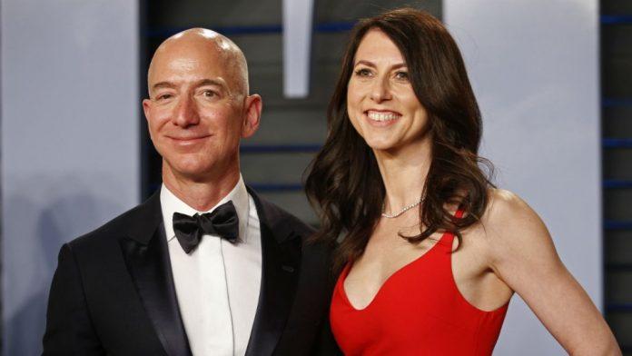 Divorce de Jeff Bezos patron d'Amazon (détail)