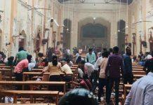 Explosions pendant la messe de Pâques au Sri Lanka (détail)