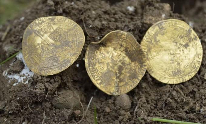 Un trésor datant du Moyen-Age dans un champ près de Hambleden