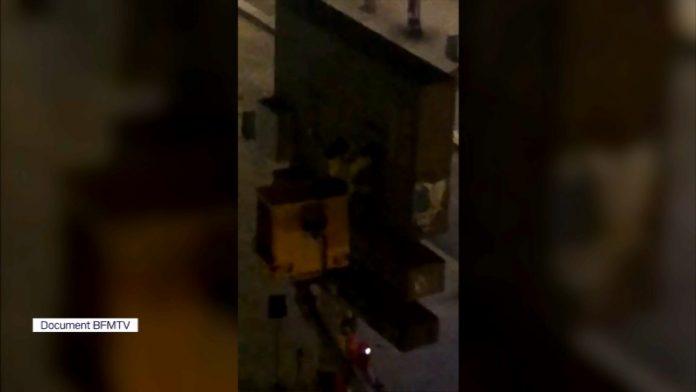 La vidéo inédite du vol de l'œuvre de Banksy en plein Paris
