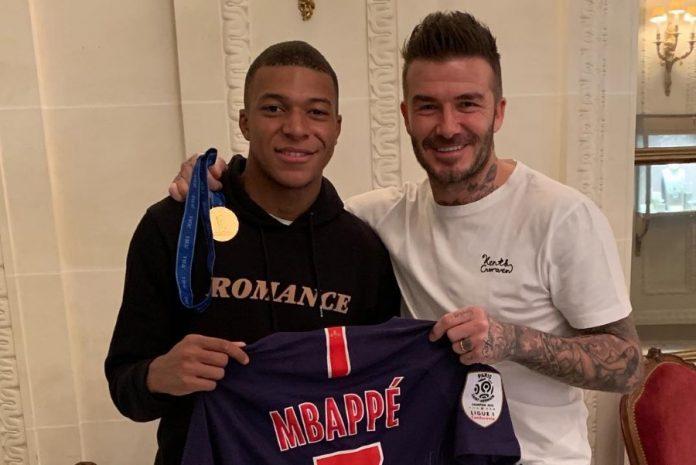 Beckham futur agent de Kylian Mbappé ? (détail)