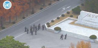 Un soldat nord-coréen a brièvement franchi la frontière avec le Sud - VIDÉO