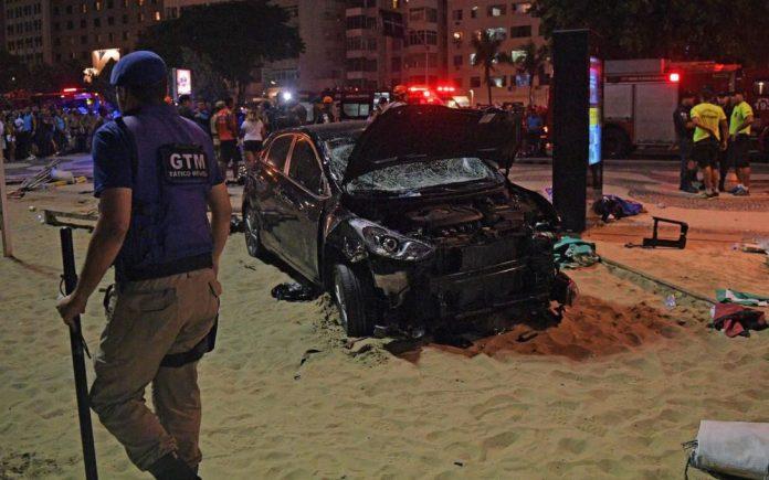 Copacabana : Une voiture folle fauche une dizaine de passants (Vidéo)