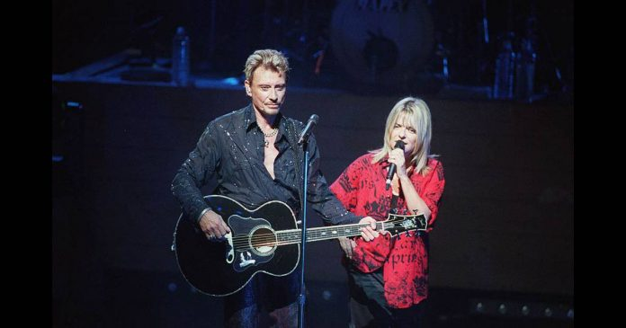 La Photo de France Gall et Johnny Hallyday
