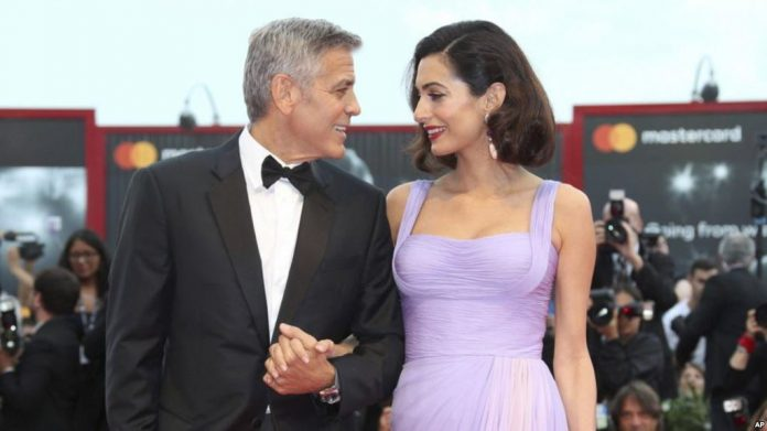 Les Clooney vont financer la manifestation contre les armes