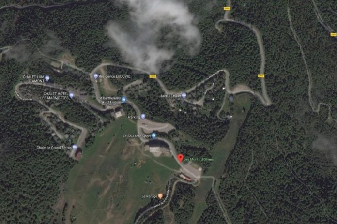 Éboulement en Ariège : La Station monts Olmes bloqué