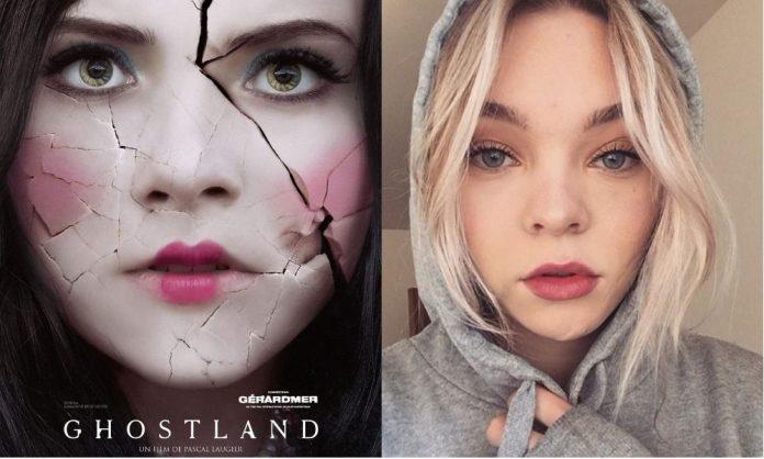 Taylor Hickson défigurée sur le tournage de Ghostland
