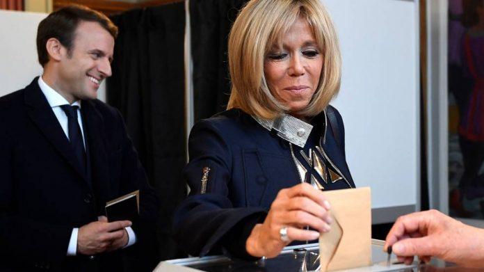 Brigitte Macron, Première dame libre: