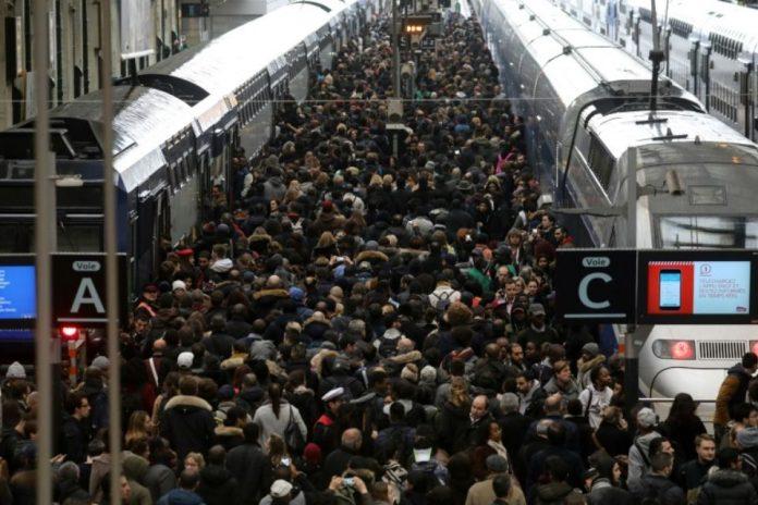 Troisième jour de Grève à la SNCF