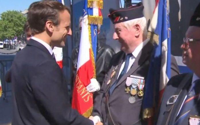 Cérémonie 8 Mai : Emmanuel Macron interpellé par un vétéran (Vidéo)