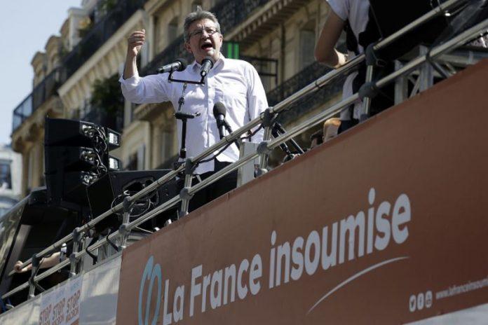 Tension entre Ruffin et Mélenchon pour la fête à Macron