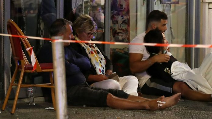 Tir de pistolet à Nice : Scène de panique et plusieurs blessés