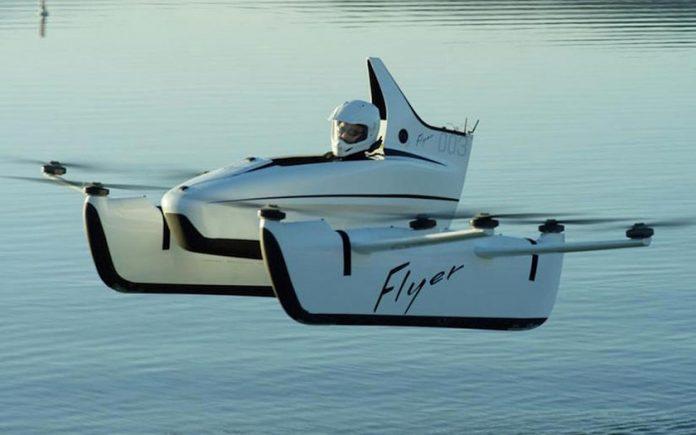 1ère voiture volante sans permis disponible à l'achat !