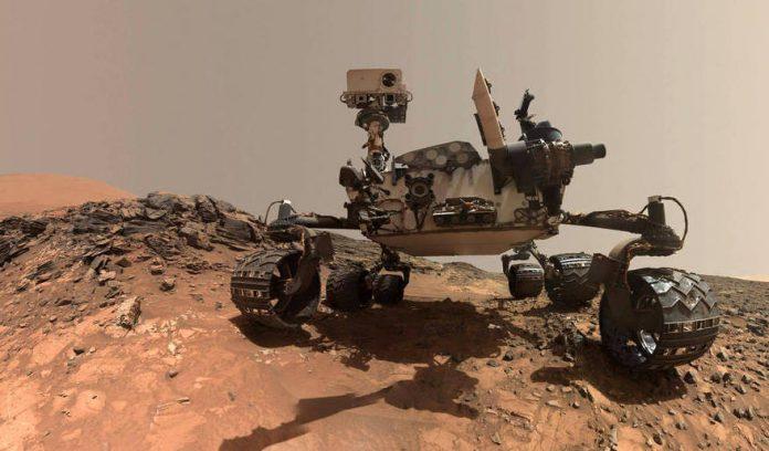 Découverte de molécules organiques sur Mars