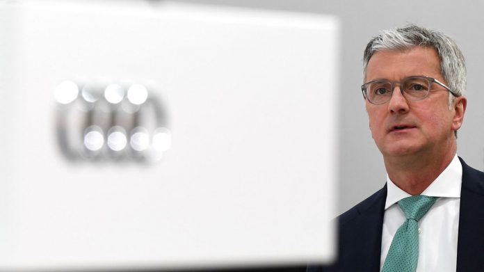 Le PDG d'Audi arrêté et incarcéré en Allemagne