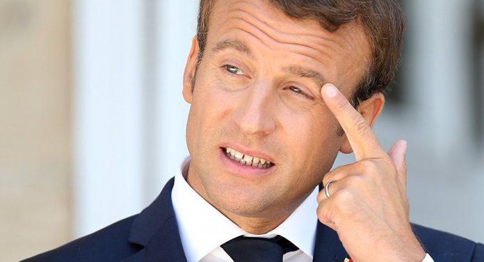 Chute de popularité pour Macron selon un sondage