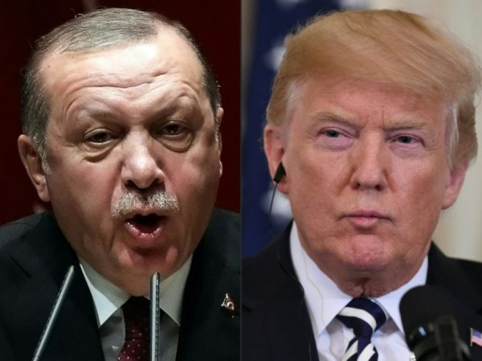 Trump menace l'économie turque (Détail)