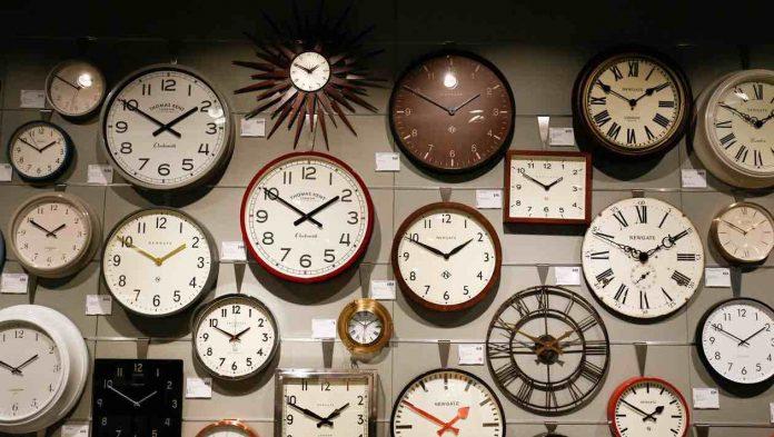 Fin du changement d'heure (Consultation Français)