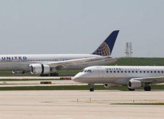 Un Boeing 787 d'United Airlines se pose en urgence à Tontouta (détail)