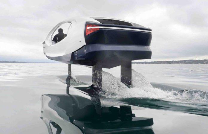 Sea Bubbles : Nouveaux Tests Des taxis volants sur la Seine à Paris